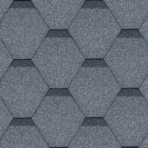 gonty bitumiczne Standard Rock Hexagonal Szary