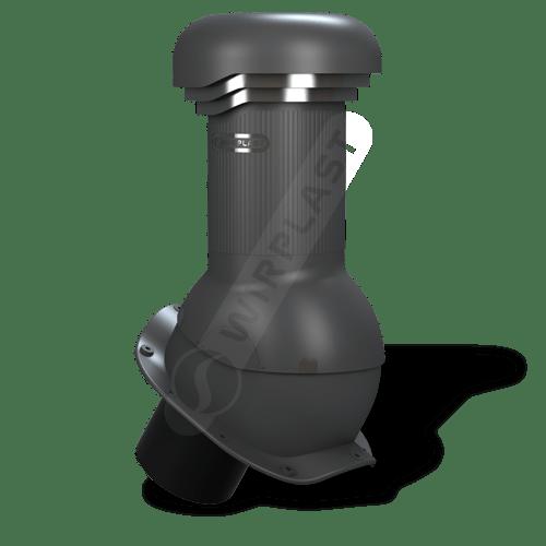kominek, wentylator dachowy antracytowy