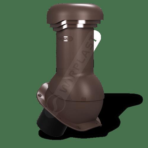 kominek, wentylator dachowy brązowy 8017