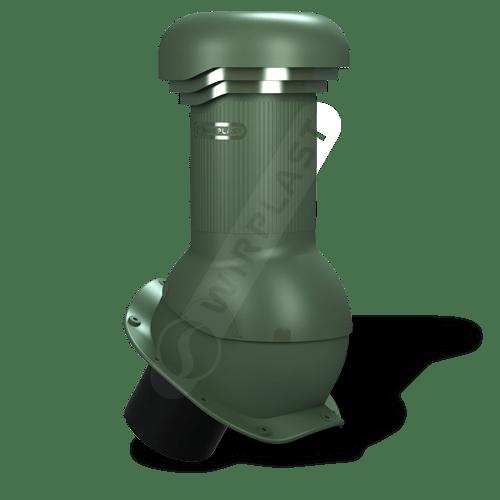 kominek, wentylator dachowy zielony