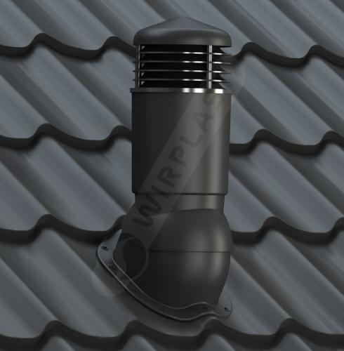 K95 kominek dn izolowany czarny
