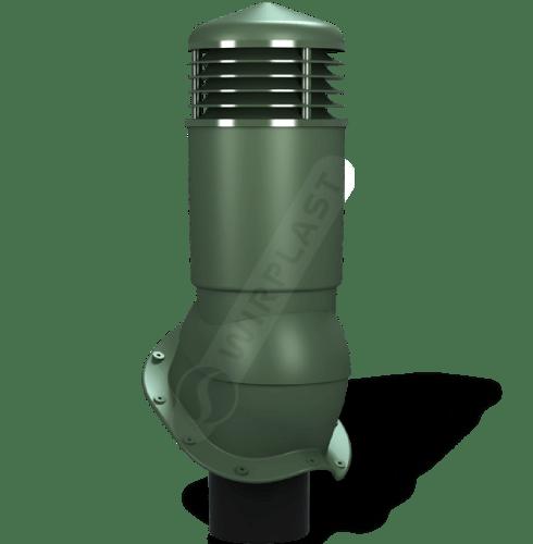 kominek dn izolowany zielony