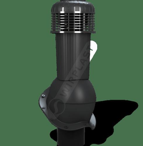 K96 wentylator dachowy zodpływem kondensatu czarny