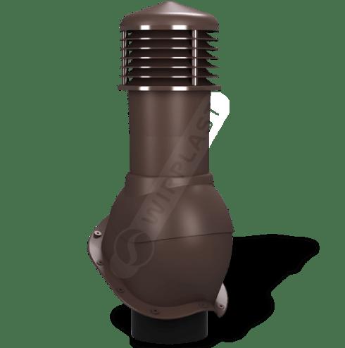 K53 kominek dn nieizolowany brązowy 8017