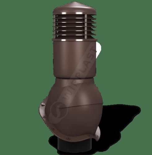 K55 kominek dn izolowany brązowy 8017