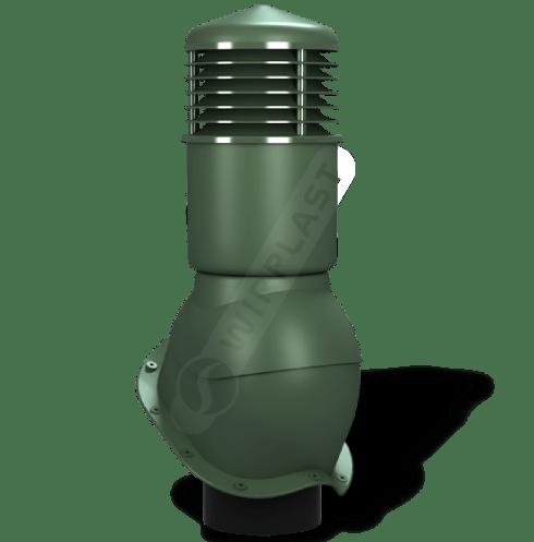 K55 kominek dn izolowany zielony