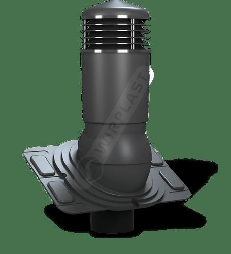K92 kominek dn uniwersalny izolowany antracytowy