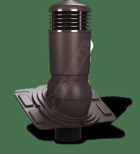 K92 kominek dn uniwersalny izolowany brązowy 8019