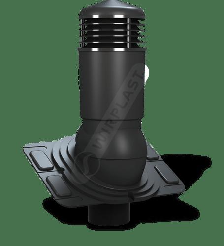 K92 kominek dn uniwersalny izolowany czarny