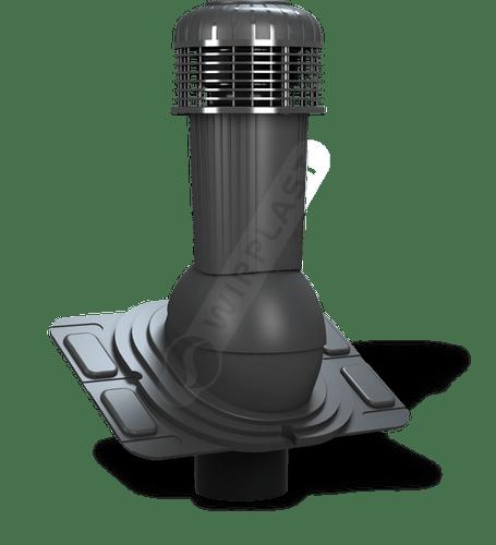 K93 wentylator dachowy dn uniwersalny antracytowy