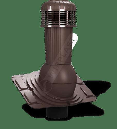 K93 wentylator dachowy dn uniwersalny brązowy 8017