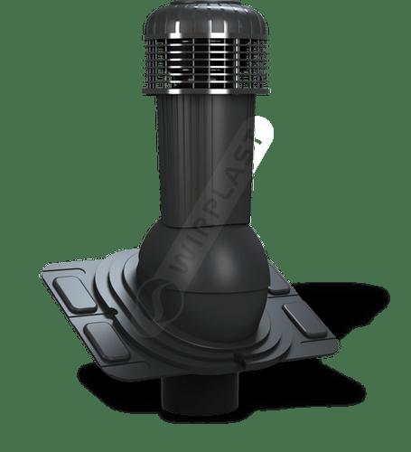 K93 wentylator dachowy dn uniwersalny czarny