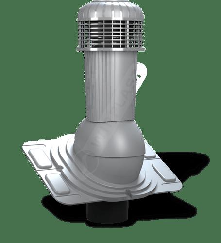 K93 wentylator dachowy dn uniwersalny szary