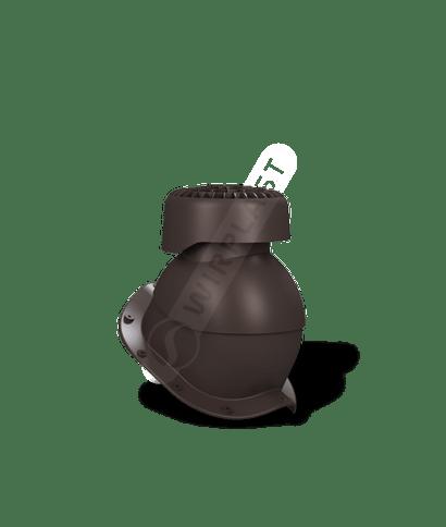 K84 wywietrznik kanalizacyjny brązowy 8019