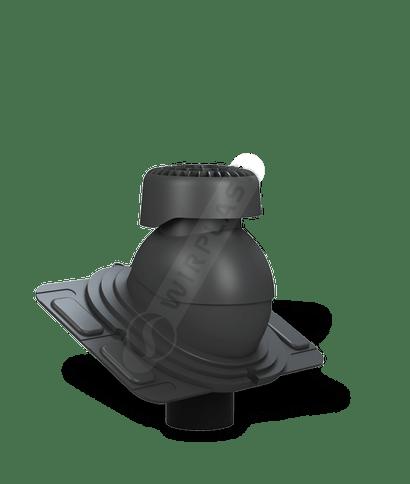 K86 wywietrznik kanalizacyjny uniwersalny antracytowy