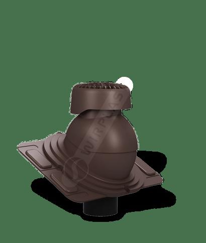 K86 wywietrznik kanalizacyjny uniwersalny brązowy 8017