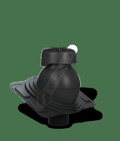 K86 wywietrznik kanalizacyjny uniwersalny czarny