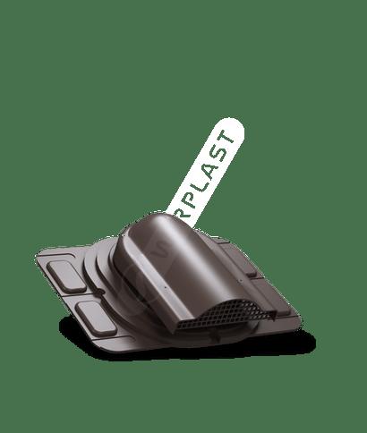 P20 wywietrznik połaciowy uniwersalny brązowy 8019