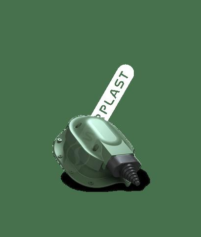 S48 przejście dosolarów zielony