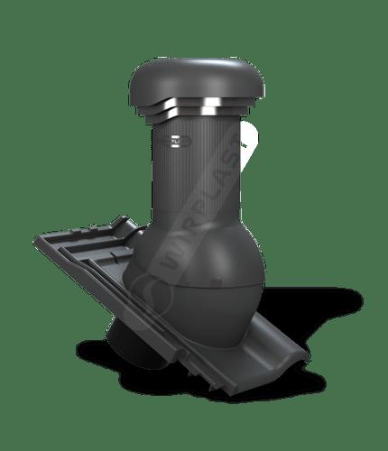 W17 kominek zodpływem kondensatu antracytowy