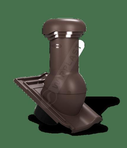 W18 kominek zodpływem kondensatu brązowy