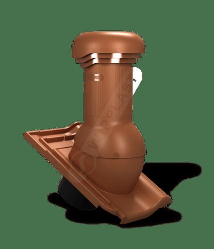 W18 kominek zodpływem kondensatu ceglasty