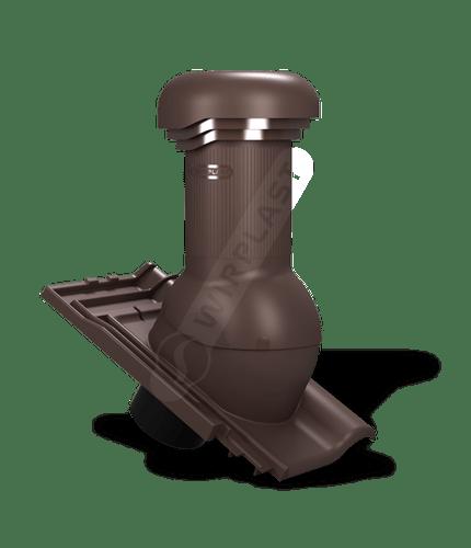 W19 wentylator dachowy zodpływem kondensatu brązowy 8017
