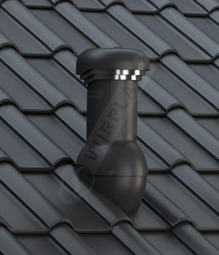 W19 dachówka ceramiczna czarna