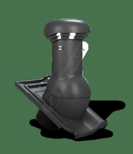 W20 wentylator dachowy zodpływem kondensatu antracytowy