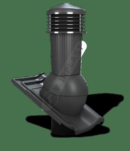 K97 kominek zodpływem kondensatu antracytowy