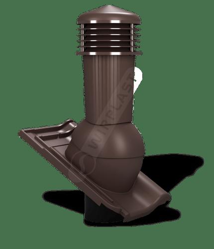 K97 kominek zodpływem kondensatu brązowy