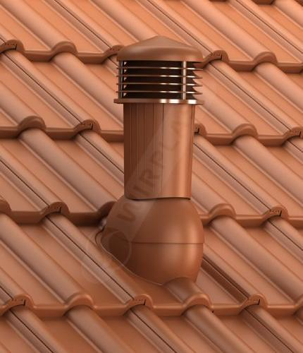 K97 dachówka betonowa ceglasta