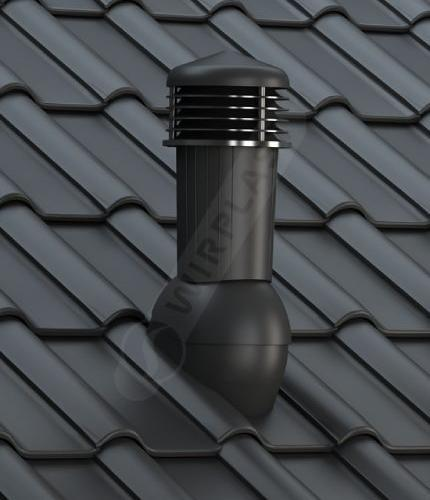 K97 dachówka ceramiczna czarna