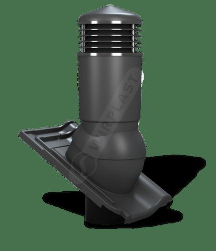 K98 kominek izolowany antracytowy