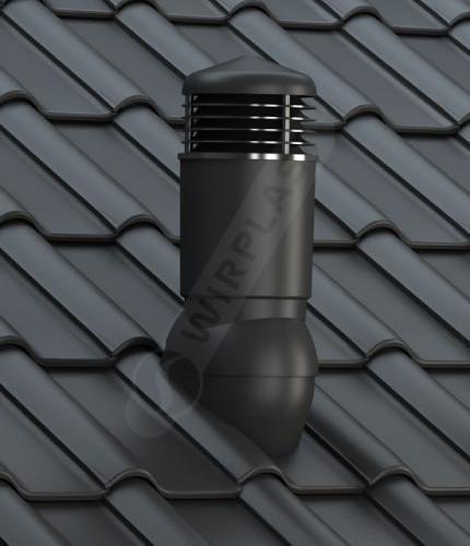 K98 dachówka ceramiczna czarna
