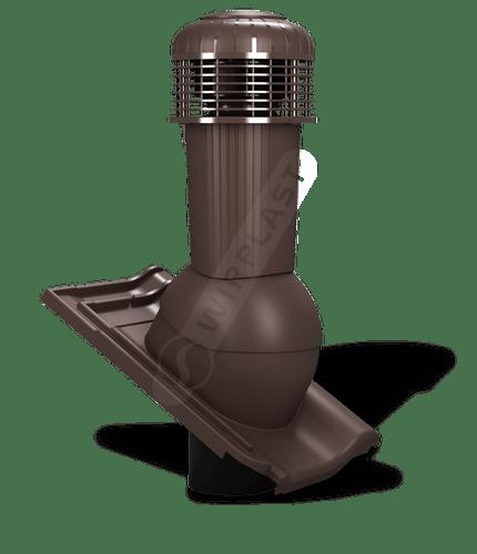 K99 wentylator dachowy zodpływem kondensatu brązowy