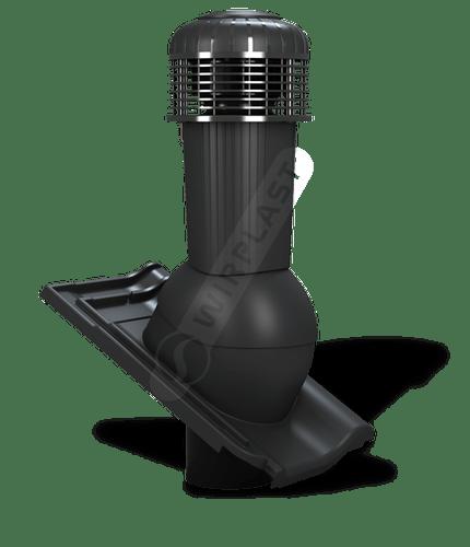 K99 wentylator dachowy zodpływem kondensatu czarny