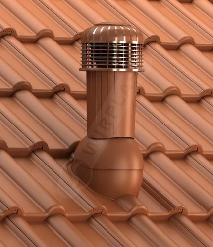 K99 dachówka betonowa ceglasta