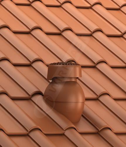 K85 dachówka ceramiczna ceglasta