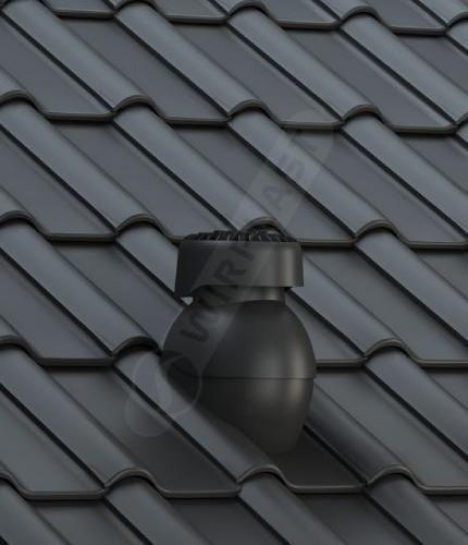 K85 dachówka ceramiczna czarna