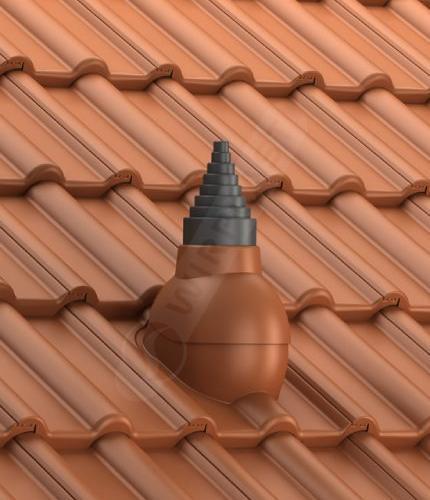 P56 dachówka betonowa ceglasta