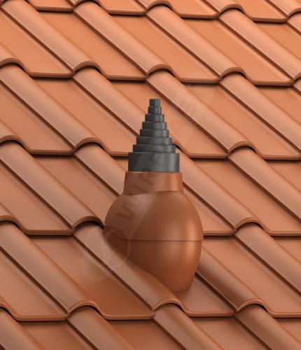 P56 dachówka ceramiczna ceglasta
