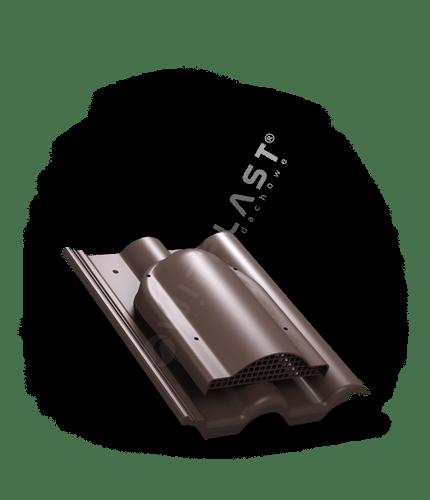 P60 wywietrznik połaciowy brązowy