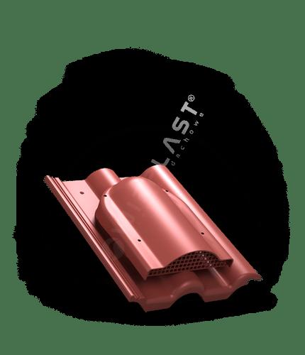 P60 wywietrznik połaciowy czerwony