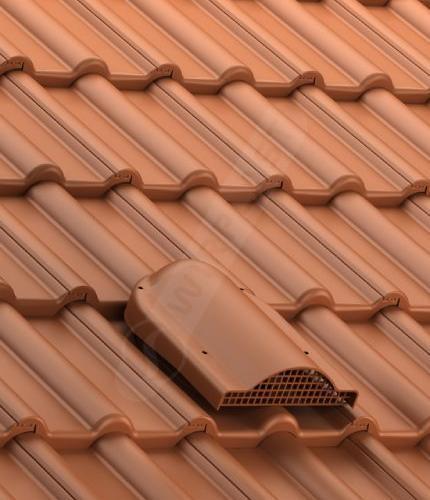P60 dachówka betonowa ceglasta