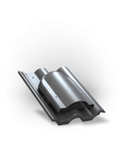 P60 wywietrznik połaciowy grafitowy