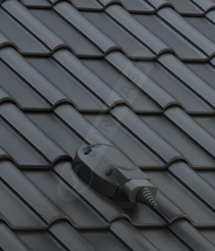 S56 dachówka ceramiczna czarna