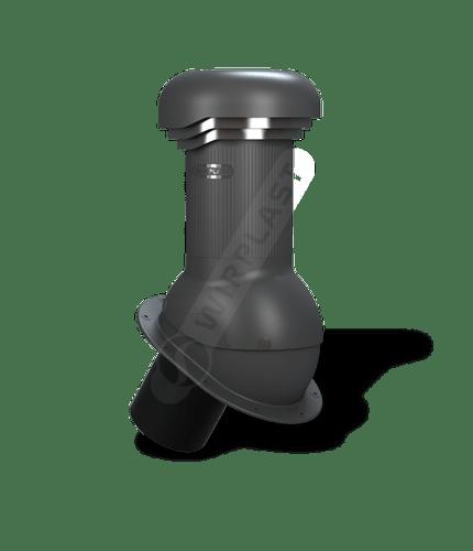 W05 kominek zodpływem kondensatu antracytowy