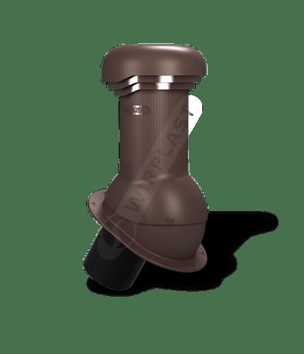 W06 kominek zodpływem kondensatu brązowy 8017