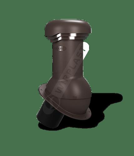 W06 kominek zodpływem kondensatu brązowy 8019